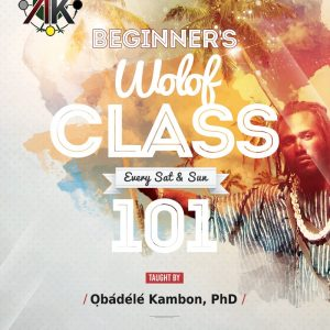 Intensive Intro Conversational Wolof Class Online [Ongoing] September 1, 2018