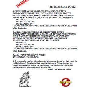 The Blackest Book PT 1: by Dr. Kamau Kambon [PDF] 389 Pages